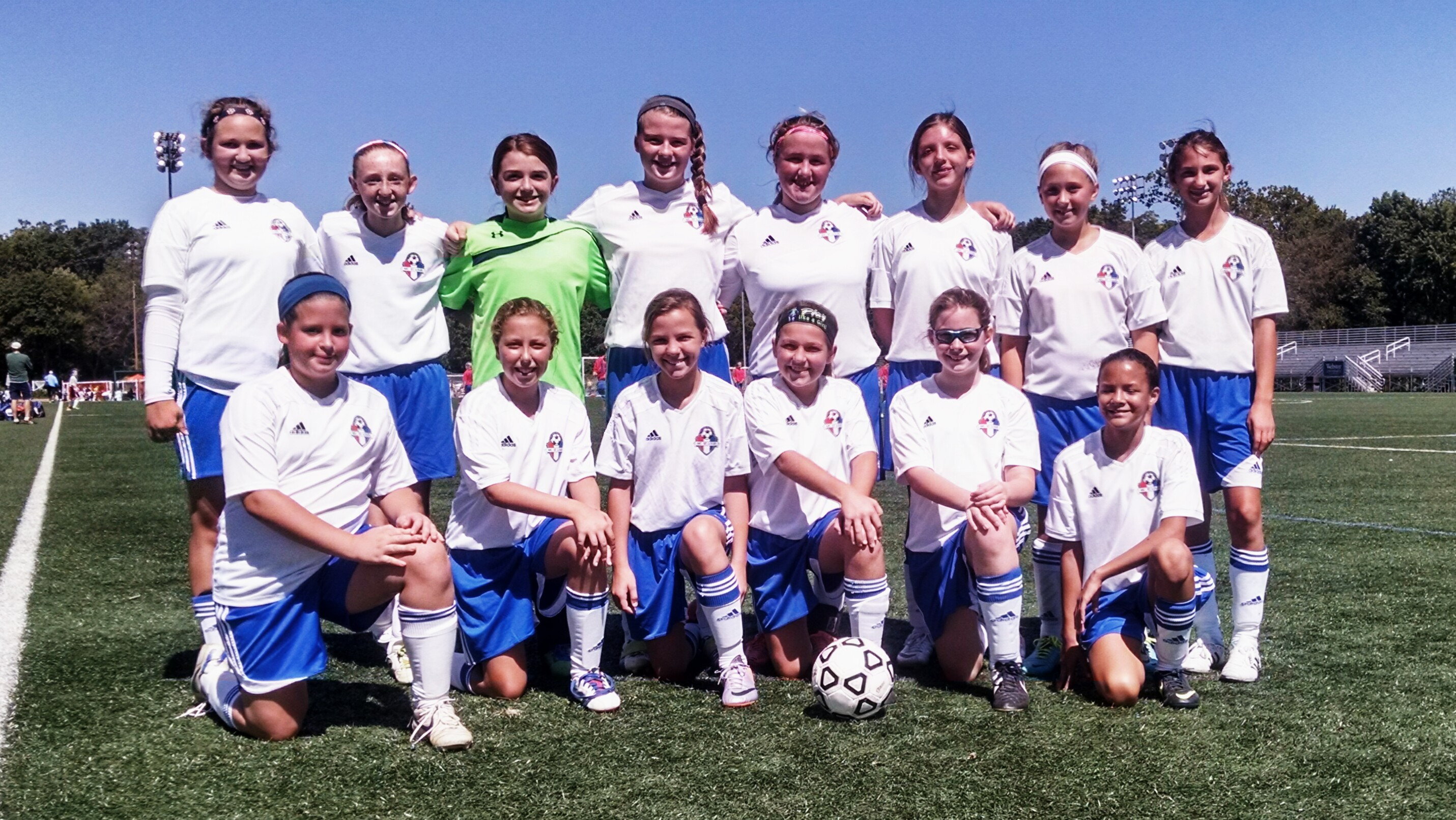 U12 Girls at SLYSA